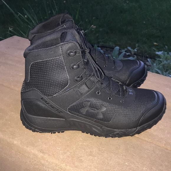 1c1881d3295 Under Armour Valsetz Black Combat Boots never worn